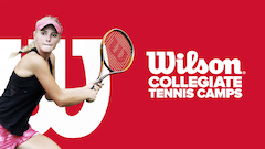 Wilson Collegiate Tennis Camps