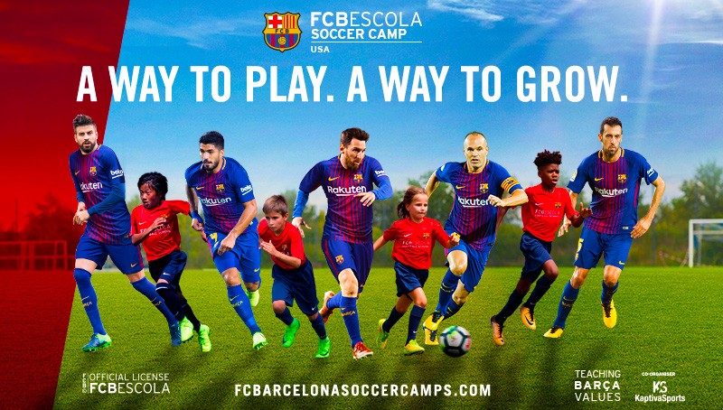 FC Barcelona Soccer Camps New Jersey