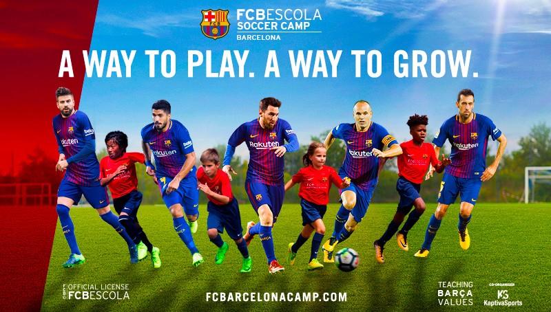 FCB Escola Soccer Camps Barcelona