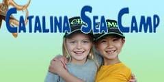 Catalina Sea Camp Double Badge Ad