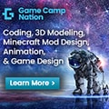 Game Camp Nation 120×120 Banner Ad Technology
