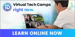 iDTech Animated Banner 240×120 for Academics