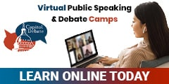 Capitol Debate Double-Badge Ad